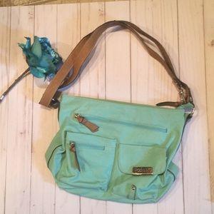 Rosetti shoulder light turquoise Bag